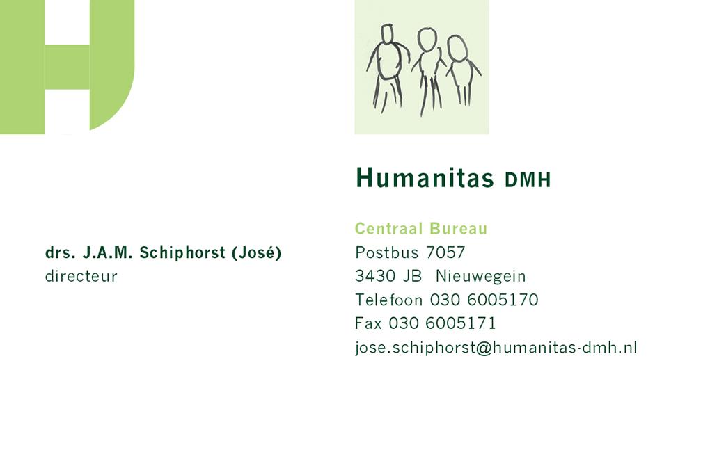 Humanitas visitekaartje