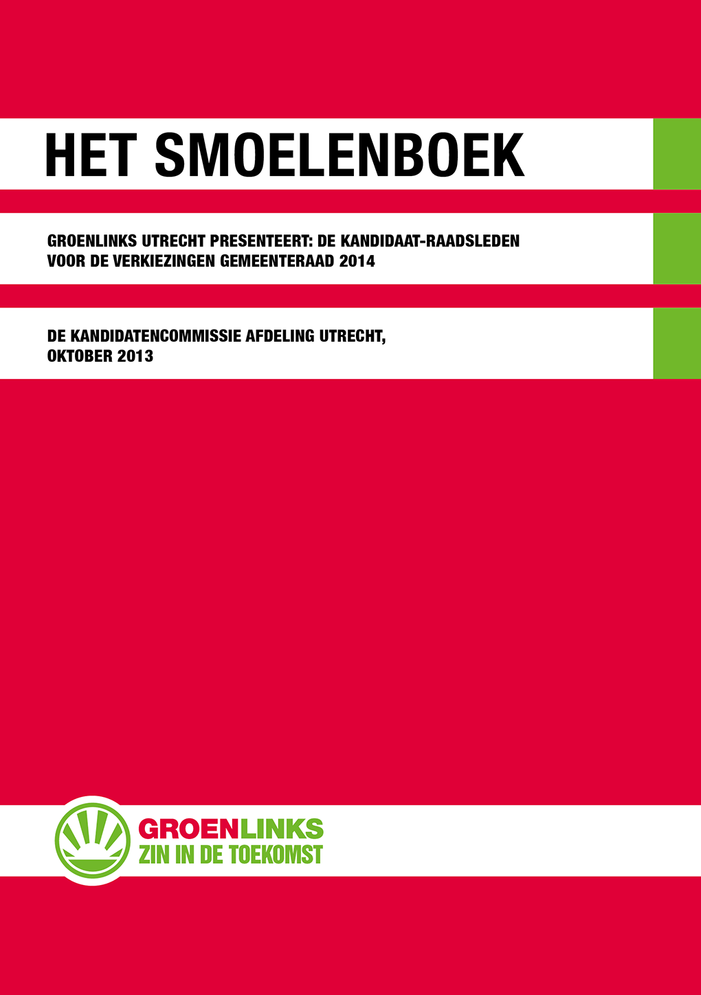 Brochure Groenlinks