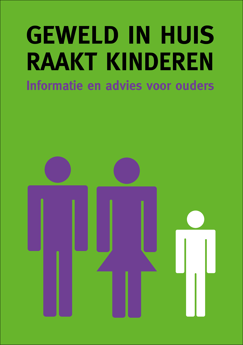 Brochure huiselijk geweld raakt kinderen