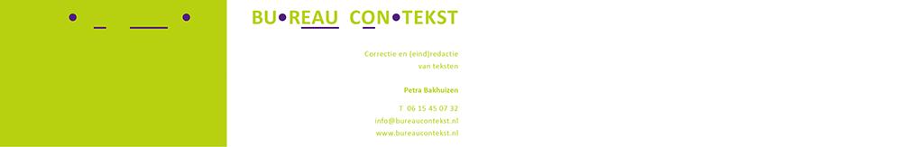 Bureau contekst