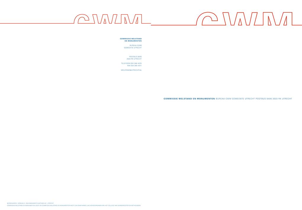 CWM briefpapier
