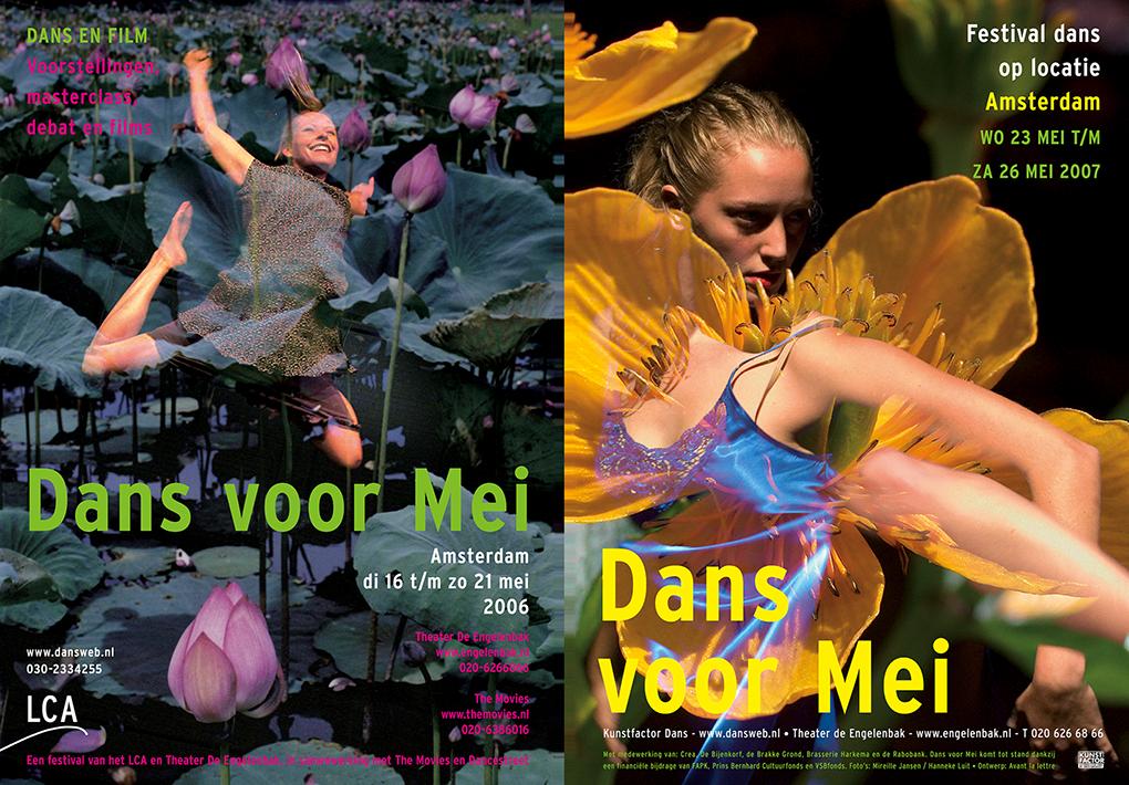 Dans voor mei posters
