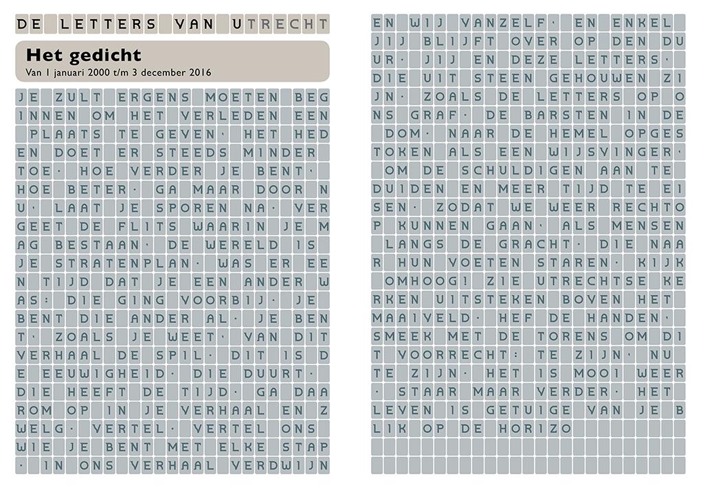 Letters van Utrecht