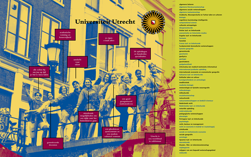 Universiteit Utrecht, diversen